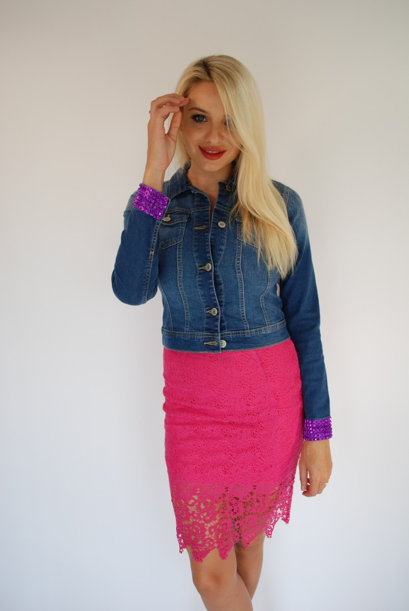 I Like You Pink Lace Skirt – Dare to Wear